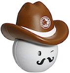 Cowboy Mad Cap Stress Balls